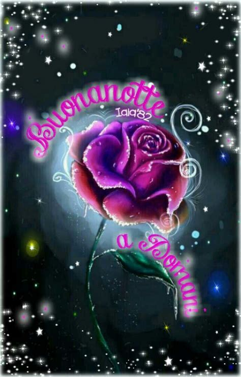 buonanotte images  pinterest good night