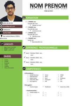 Modele Cv Sous Word by Cv Exemple Cv Gratuitement Sous Format Word Ou