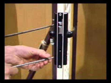 How To Remove A Screen Door by Aluminium Screen Door How To Reset A Lock