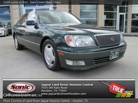 dark green lexus dark green pearl 1998 lexus ls 400 ivory interior