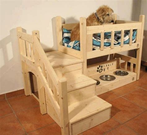 Pet Bunk Beds How To Build A Bunk Bed For Your Pets Diy Projects For Everyone
