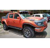Modified Tata Xenon Imitates Mercedes Ener G Force Concept