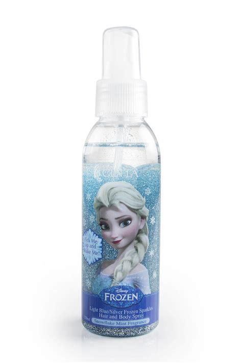 Sprei No 2 Frozen disney frozen sparkles glitter spray light blue silver