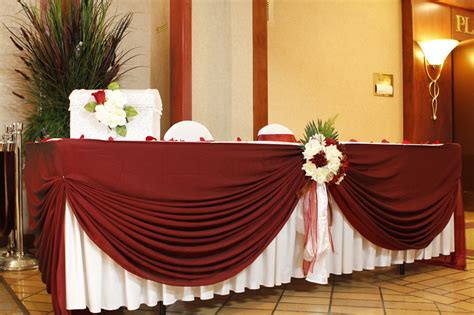 Wedding table decorations linens available for weddings all
