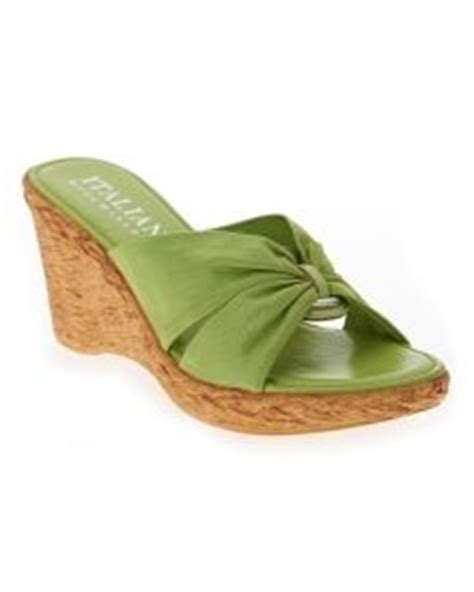 Wedges Mawar Rajut italian shoemakers wedge sandal italian sandals