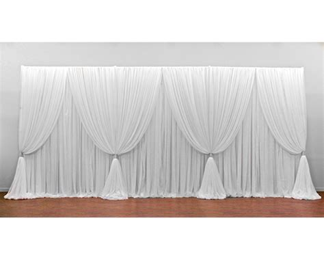 pipe and drape panels premium up and over 3 panel backdrop pipe and drape store
