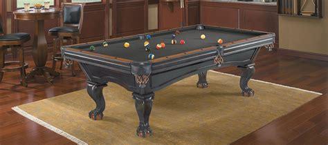 billiard table pool brunswick glenwood black chestnut 8ft