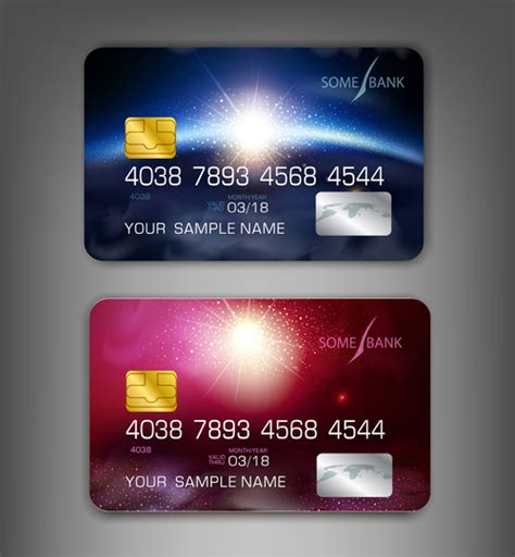 Credit Card Template Eps abstract credit cards template vector 04 vector abstract