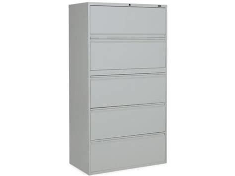 1900 Series 5 Drawer Lateral File Cabinet Sgn 1935 Metal 5 Drawer Lateral File Cabinets