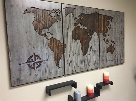 wooden art home decorations world map wood wall art carved custom home decor wooden