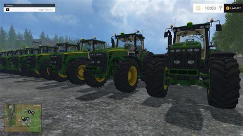 deere 10 tractors pack v1 0 for ls 15 farming