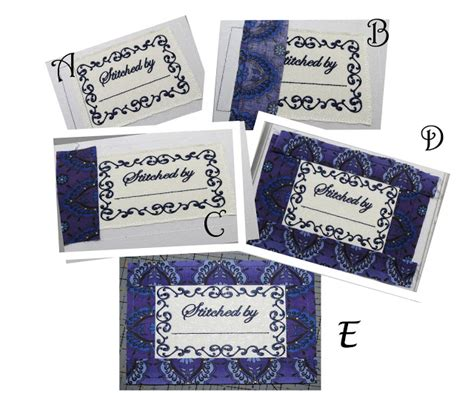 embroidery design label all things crafty ihan machine embroidery blog hop