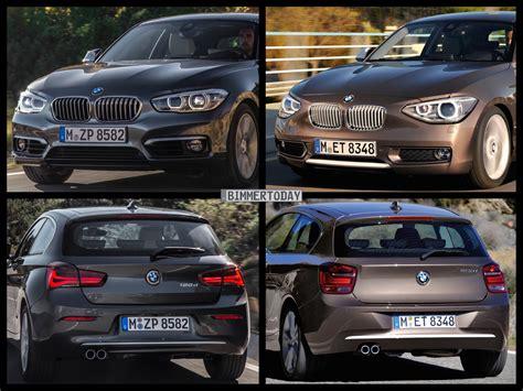 Bmw 1er Coupe Facelift Unterschiede by Bmw 1er Facelift Vergleich