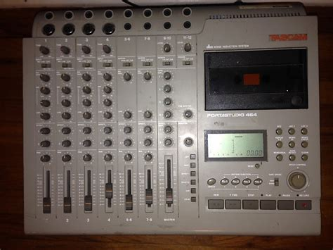 tascam portastudio cassette tascam portastudio 464 cassette 4 track recorder reverb