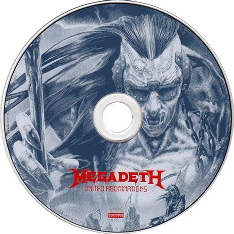 Cd My Nations car 225 tula cd de megadeth united abominations portada