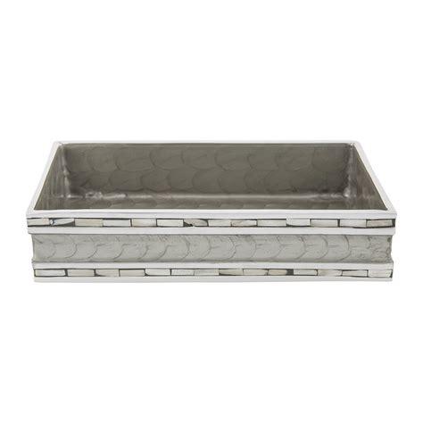 bathroom towel tray buy julia knight classic towel tray platinum amara