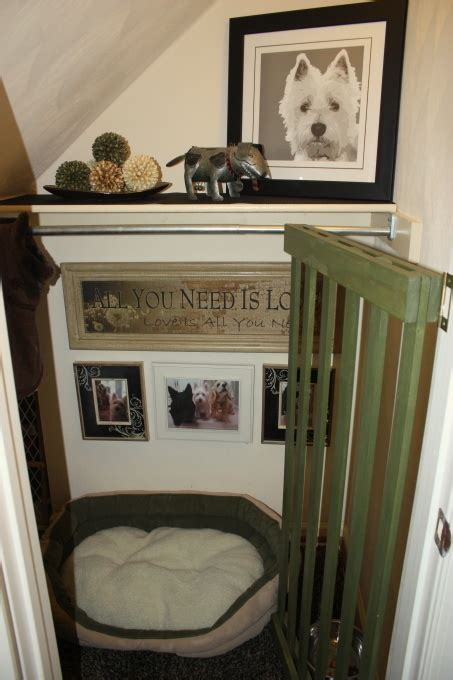 Dog Doormats A Dog Room Instead Of A Crate Love This Under Staircase