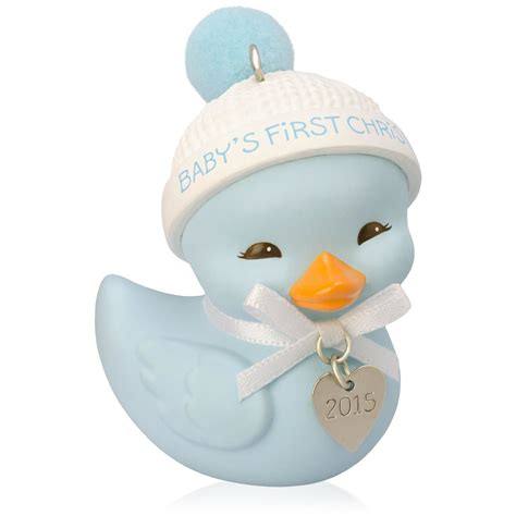 2015 baby boy s first christmas hallmark keepsake ornament