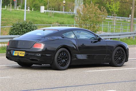 continental gt bentley next bentley continental gt spyshots less camo