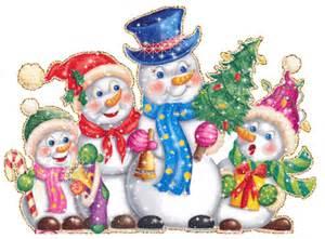 De munecos de nieve en navidad animaciones de munecos de nieve en