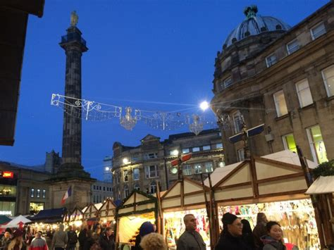 newcastle s christmas continental market canny food