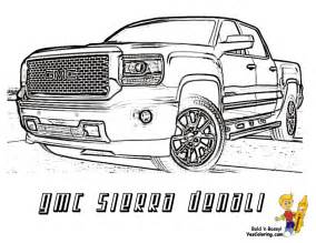 How To Pick Sheets gmc sierra denali truck coloring sheet you can print out