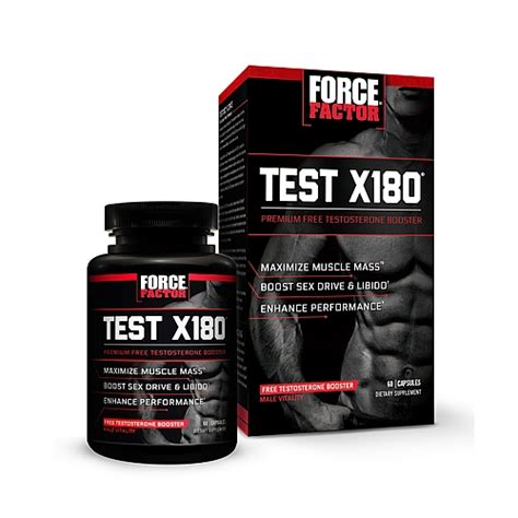 x factor supplement side effects factor test x180 review does it work