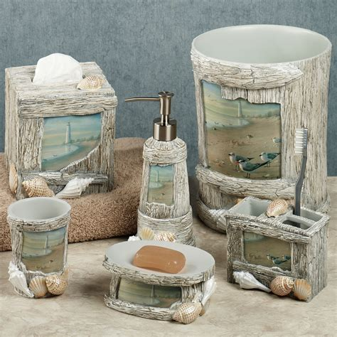Nautical Bathroom Accessories Sets Apothecary Bath Accessories Inspiration Bathroom Enjoyable Lighthouse Apothecary Bath Accesories