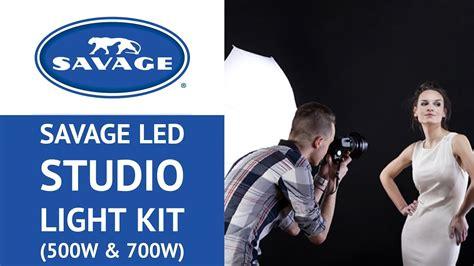 savage 500w led studio light kit savage led studio light kit 500w 700w