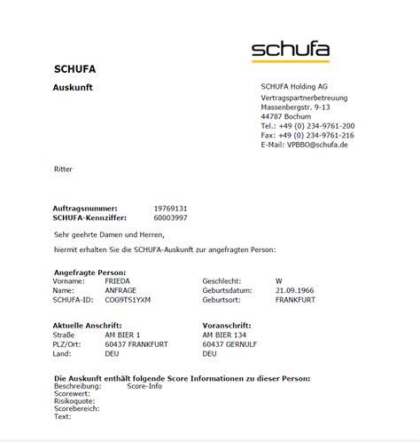 Was Steht In Der Schufa Für Vermieter by Ra Micro Kanzleisoftware