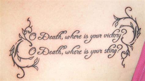 tattoo bible verses about death 15 inspiring bible verse tattoos tattoo me now