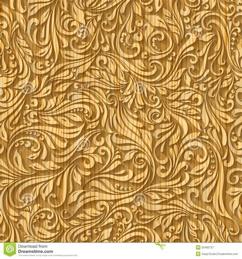 seamless wood pattern vector wood pattern floral stock vector image 55492727