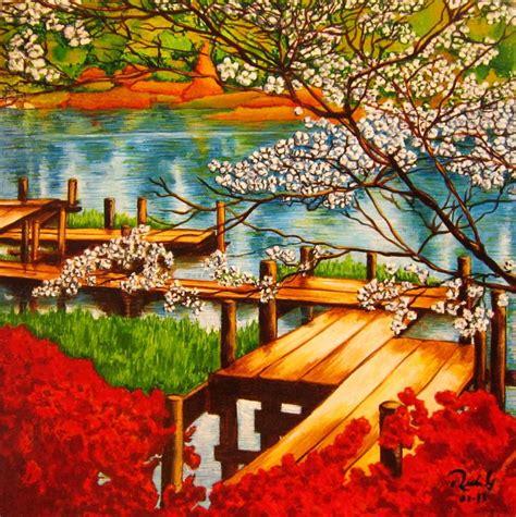 imagenes de paisajes japonesas paisaje japones pedro rueda gargurevich artelista com