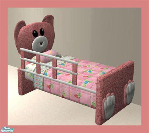 sims 3 toddler bed rebecah s mr bearlybear toddler set toddler bed