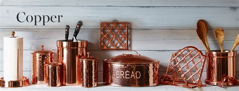 Ceramic Kitchen Canister by Copper Kitchen Accessories Williams Sonoma