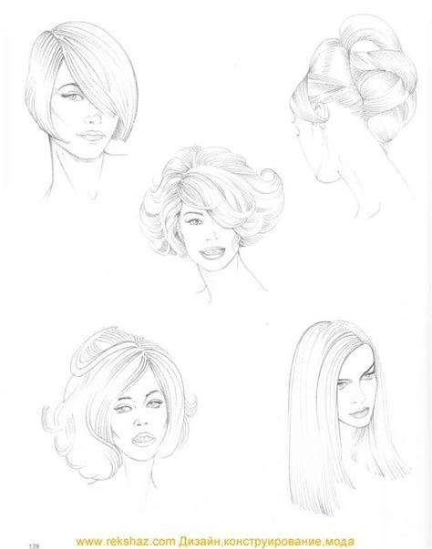 How To Draw Hairstyles by Drawing Hairstyles 1 Artwork Hairstyles