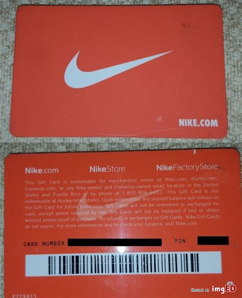 Nike Gift Card Code - nike gift card no reserve 200 free shipping image on imged