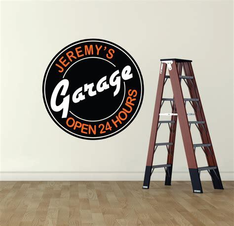 Garage Signs And Decor by Garage Decor Garage Sign Garage Wall Decal Garage