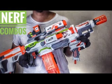 Discount Nerf Modulus Ecs 10 Blaster Pistol Nerf nerf combos nerf modulus ecs 10 tactical attachment combinations one year anniversary special