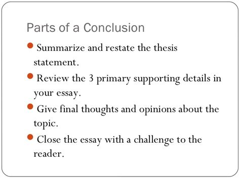 What To Write In The Conclusion Of An Essay by Writing Introductions And Conclusions