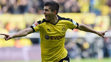 christian pulisic espn christian pulisic has no intention of moving from dortmund