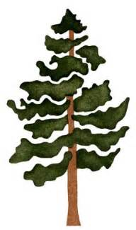 pine tree stencil free submited images