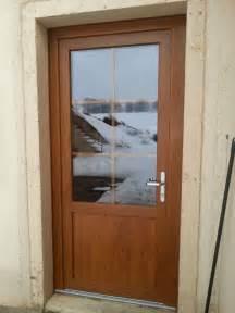 porte d entr 233 e avec porte fenetre pvc vitrage