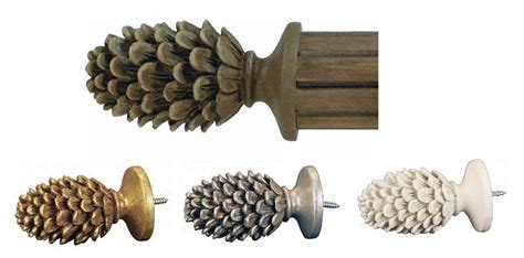 pine cone curtain rod pine cone rods 28 images pine cone rod wrought rods