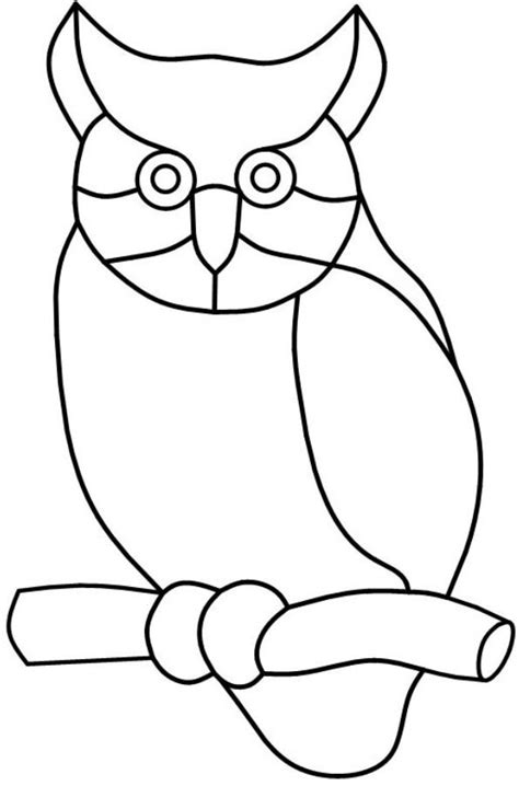 stained glass owl l 1837 best templates patterns images on pinterest stained
