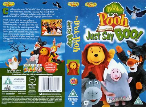 Story Book Say Boo To The Animals the book of pooh just say boo vhs 2003 doovi