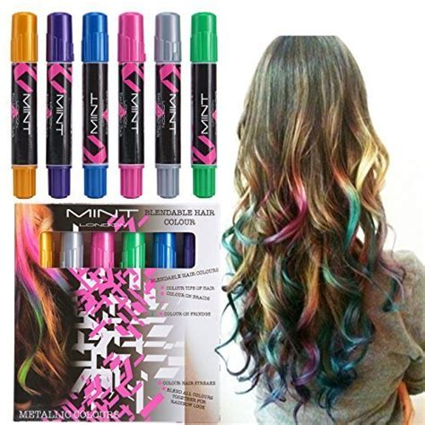 Hair Chalk Metallic Glitter Temporary Hair Color Edge | best preteen girl gifts that are popular and trendy for 2017
