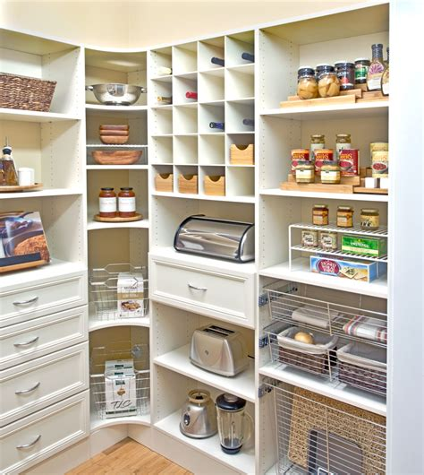 How To Organize Kitchen Cabinets organized living pantry shelving