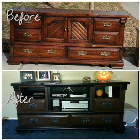 Dresser Entertainment Center by 5 Creative Diy Entertainment Centers Room Bath