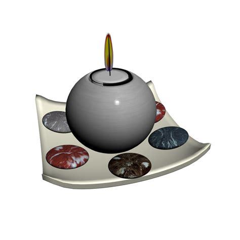 Schale Mit Kerzen by Schale Mit Kerze Einrichten Planen In 3d